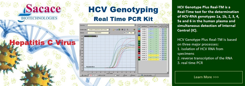 HCV Genotyping PCR kit